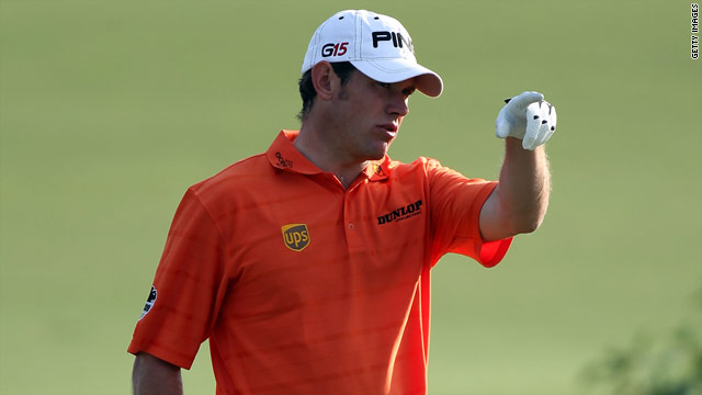 Englishman Lee Westwood deposed Tiger Woods as the world's No. 1 golfer at the end of October.