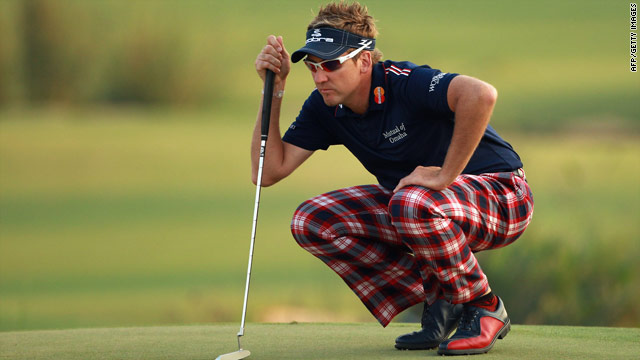 Ian Poluter leads by two at the Dubai World Championship after posting a third round 69.