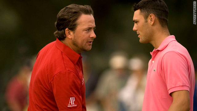 McDowell (left) and Kaymer (right) have both enjoyed superb seasons in 2010.
