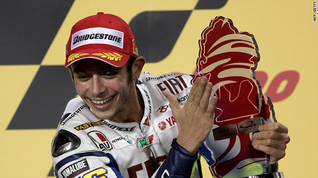 Nine-time world champion Valentino Rossi made the perfect start to the season.