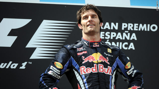 Webber topped the podium for the first time this season with a dominating performance.