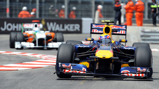 Mark Webber proved unstoppable in Monte Carlo to complete his second successive al-the-way victory.
