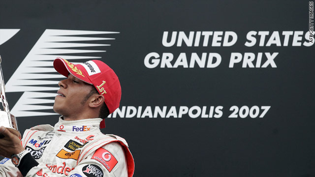 British driver Lewis Hamilton was the last man to win a grand prix on American soil at Indianapolis in 2007