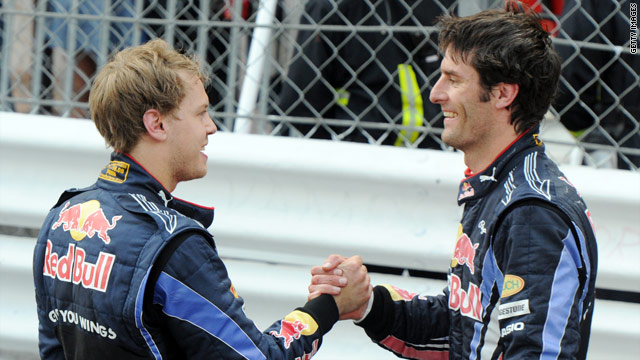 Red Bull insist the row between Mark Webber and Sebastian Vettel after their crash in Turkey is now over.