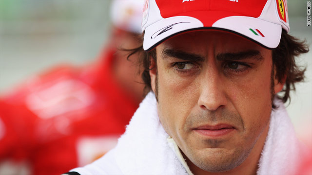 Fernando Alonso is fifth in the drivers' championship going into next month's British Grand Prix.