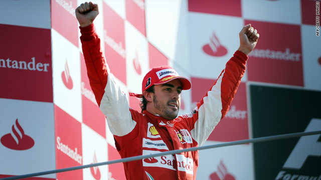 Fernando Alonso claims an emotional victory for Ferrari in front of their home fans at the Italian Grand Prix.