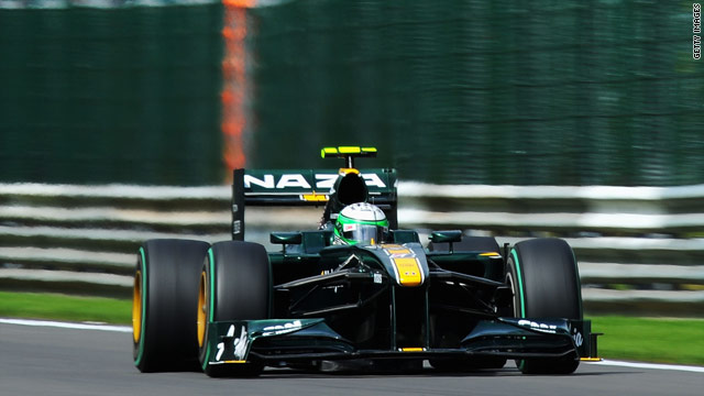 The Lotus cars will have a new engine supplier next year, with Renault likely  to take over from Cosworth.