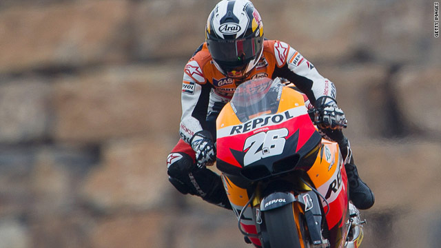 Dani Pedrosa ia aiming to secure a third successive MotoGP victory in Spain this weekend.