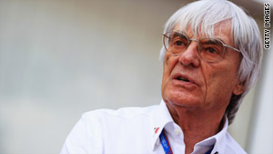 Formula One supremo Bernie Ecclestone says track inspections should take place three months before a race.