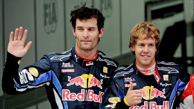 Mark Webber and Sebastian Vettel are both still in the hunt for the Formula One world championship.