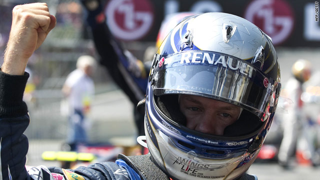 Sebastian Vettel was winning his fourth race of the season to boost his title hopes.