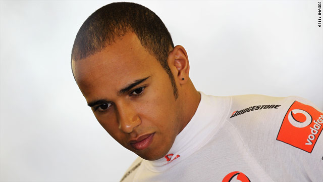 Lewis Hamilton finished the 2010 Formula One season in fourth place.