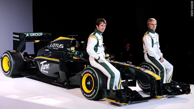 Jarno Trulli and Heikki Kovalainen will be racing for Lotus again in the 2011 season.