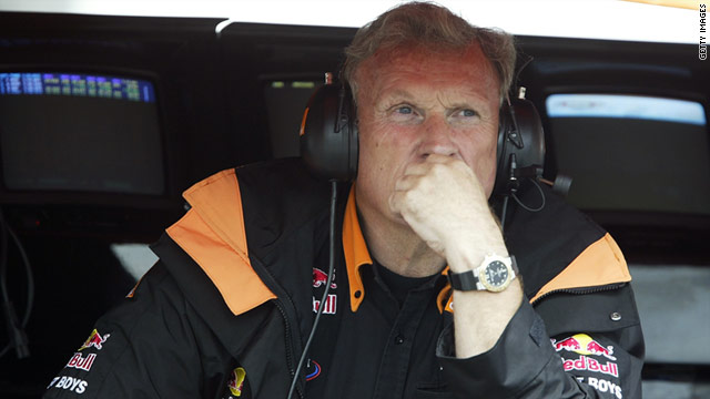 Walkinshaw was a familiar face in the Formula One pit lane over recent years.