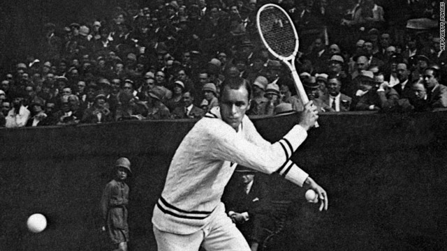 Bill Tilden won 10 grand slam titles during a glittering but controversial career, seven of them at the U.S. Open.