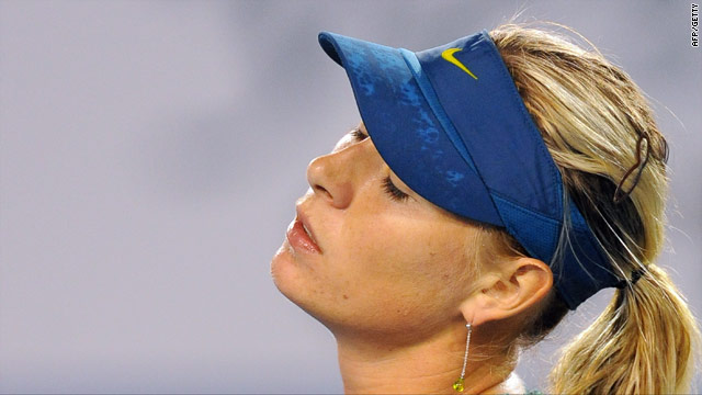Sharapova has struggled to regain her former top ranking after injury.