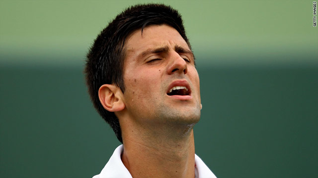 Serbia's Novak Djokovic suffered a shock defeat to end his chances of repeating his 2007 Miami title win.