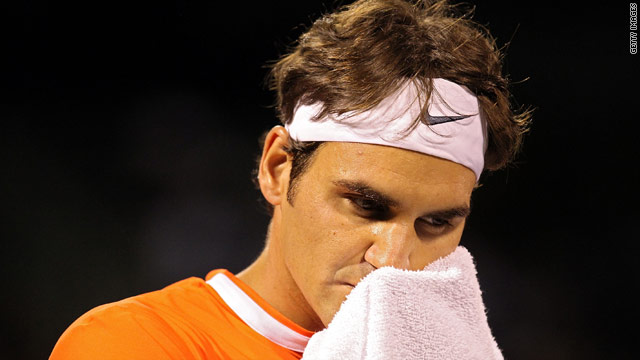 Federer has struggled since claiming his 16th Grand Slam singles title at the Australian Open in January.