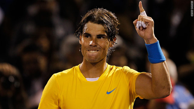 Former world No. 1 Rafael Nadal has reached the semifinals in his last two events in the United States.