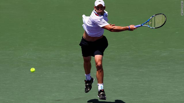 Big-serving Andy Roddick is seeking to repeat his 2004 triumph in the Miami tournament.