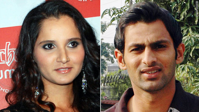 Sania Mirza and Shoaib Malik will be married in April and plan to live together in Dubai.