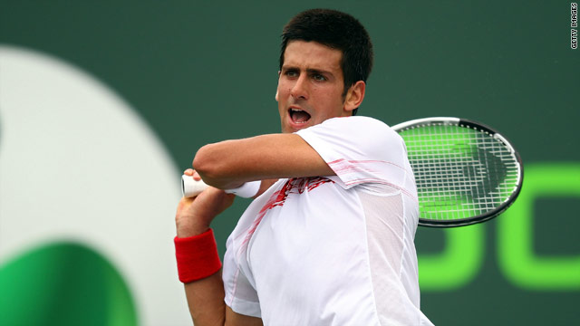 Novak Djokovic is seeking to bounce back after poor results in American hardcourt events last month.