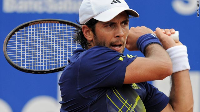 Fernando Verdasco reached his second final in a week with victory over David Ferrer in Barcelona.