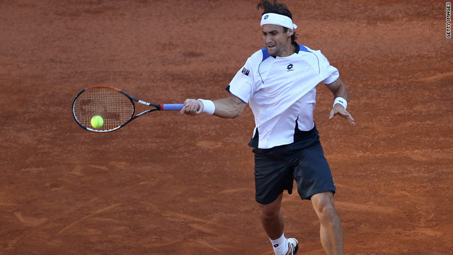 David Ferrer had too many shots for Andy Murray, reaching the quarterfinals of the Rome Masters in straight sets.