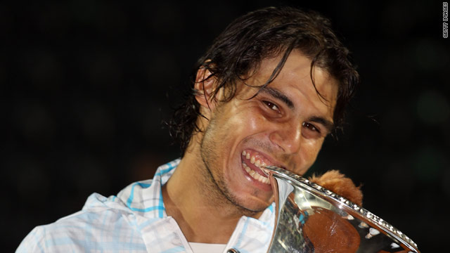 Nadal was getting his hands on a Masters title for the 17th time with his Rome win.