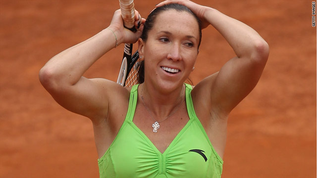 Serbian tennis star Jelena Jankovic is seeking to win the Italian Open title for the third time.