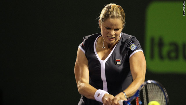 Clijsters has made a superb return to tennis but will be missing at Roland Garros.