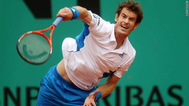 Andy Murray reached the quarterfinals at Roland Garros last year, his best performance at the French Open.