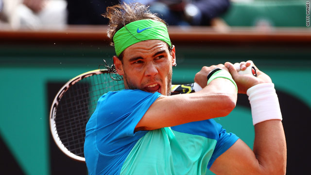 Nadal is looking to become on the second man to win five or more French Open titles.