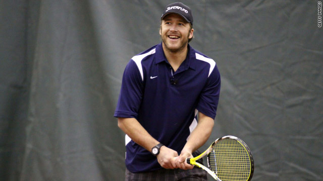 Miller is hoping to test his tennis talents against the very best in the world at the U.S. Open.