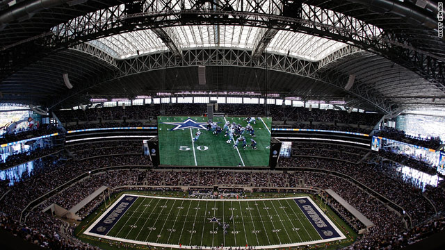 The $1.2 billion Dallas Cowboys Stadium will stage a special tennis exhibition in July.