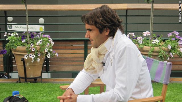 Roger Federer talks to CNN ahead of his Wimbledon men's singles title defense.