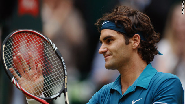Roger Federer is bidding for a seventh men's singles title at Wimbledon.