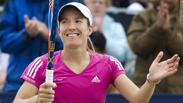 Justine Henin has twice lost in the final at Wimbledon, the only Grand Slam title she has yet to win.