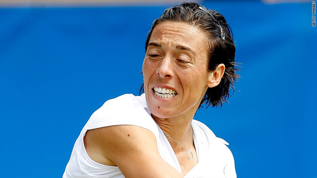 Francesca Schiavone has not won a match since claiming the French Open title earlier this month.