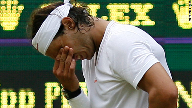 Rafael Nadal had to come from 2-1 down before winning in five sets for the second successive match.