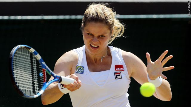 Clijsters now has a 13-12 winning record over her Belgian rival.