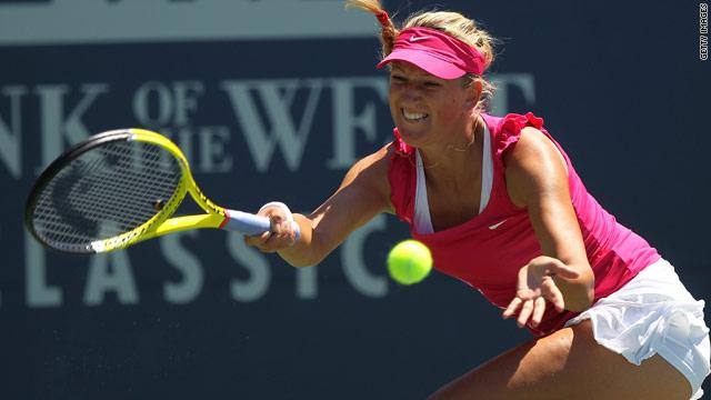 Victoria Azarenka now faces top seed Sam Stosur after ending Marion Bartoli's winning Stanford run.