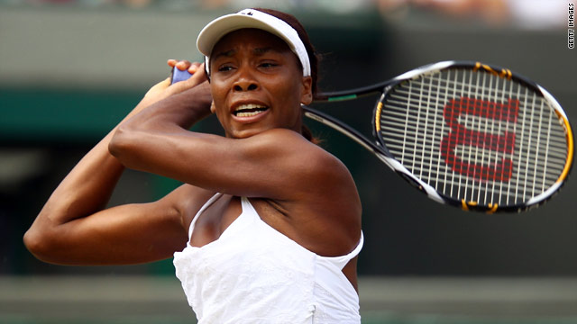 Venus Williams has won the U.S. Open twice but is being hampered by injury ahead of next month's event.