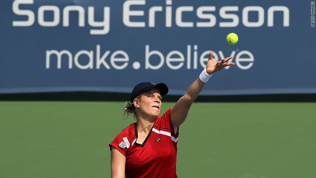 Kim Clijsters fought back magnificently to claim her third title of the year.