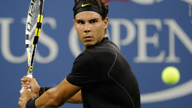 Rafael Nadal got his U.S. Open off to a good start with victory over Russia's Teymuraz Gabashvili.