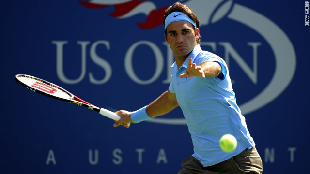 Roger Federer is yet to drop at set at Flushing Meadows, and is on course for a sixth U.S. Open title.