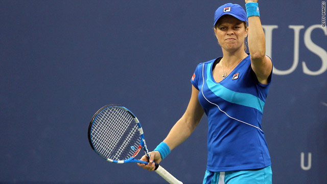 """Clijsters: """"I think today was probably one of the best matches that I've played throughout the tournament."""""""