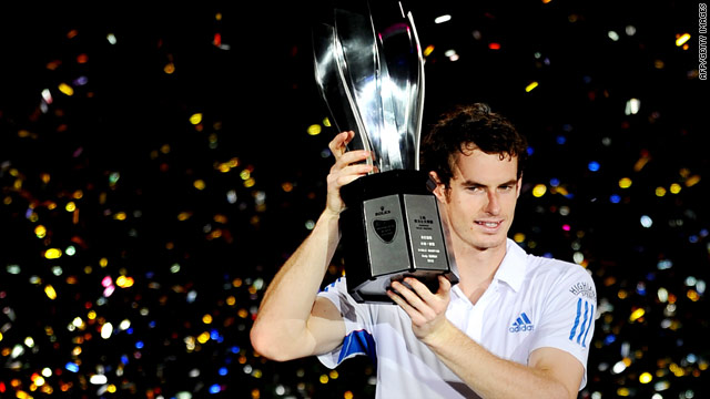Andy Murray proved in a class of his own as he added the Shanghai Masters title to his Toronto victory in August.