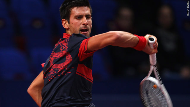 Last year Novak Djokovic ended home hero Roger Federer's run of three successive titles in Basel.