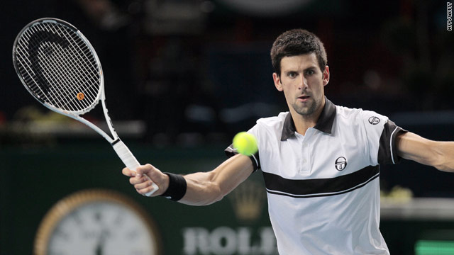 Djokovic continued his fine end of season form with an easy victory at Bercy.